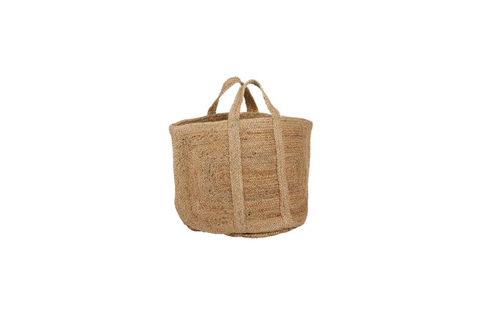 Braided Hemp Basket