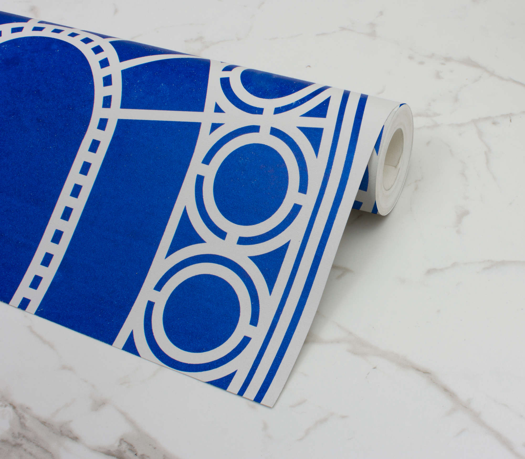 custhom palladian wallpaper blue remodelista 12