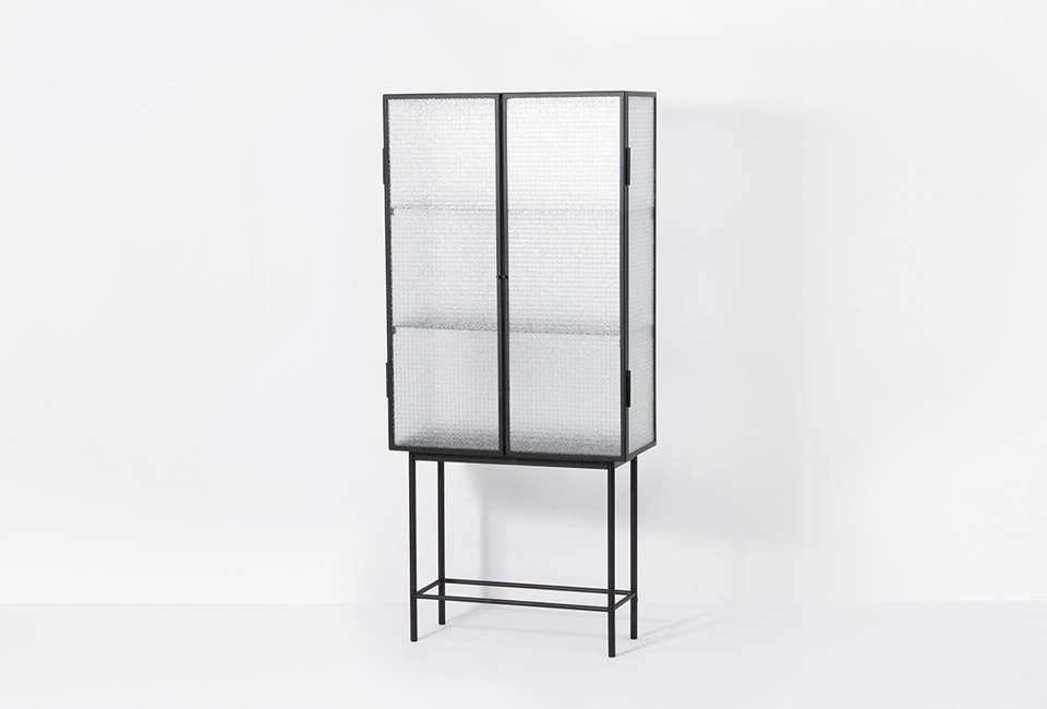 10 Easy Pieces Glass and Steel Display Cabinets Ferm Living Haze Vitrine Cabinet