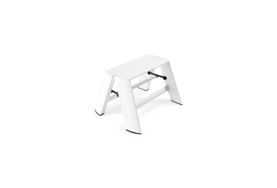 hasegawa lucano white step stool 10