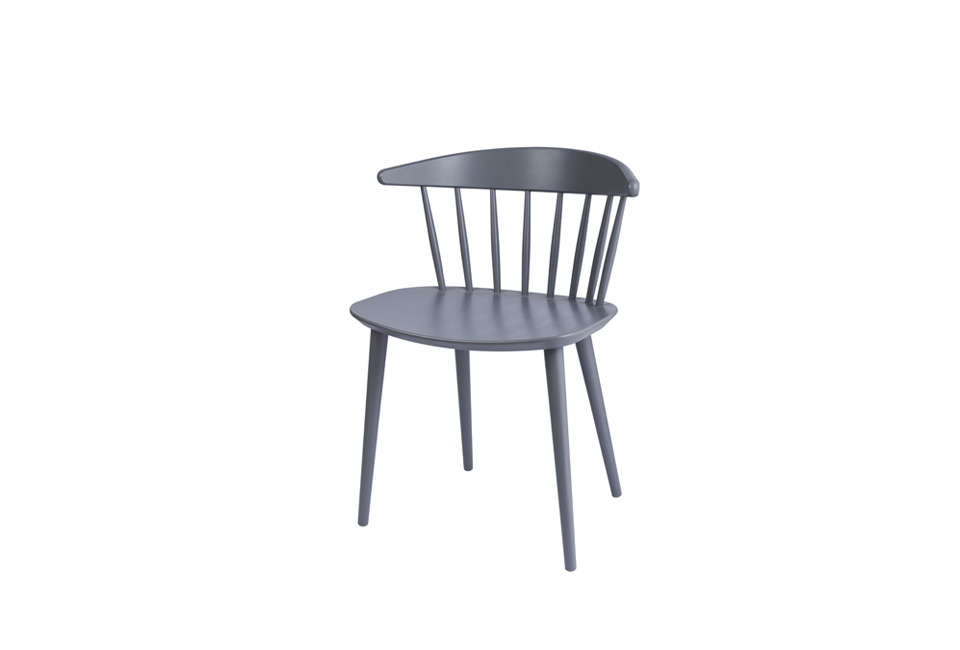 Steal This Look A ScandiStyle Kitchen in a Canadian Cabin John and Juli chose vintage Jorgen Baekmark dining chairs for the kitchen. A similar style is Baekmark J\104 ChairHay&#8\2\17;s J\104 Dining Chairin gray for \$\285 at Danish Design Store.