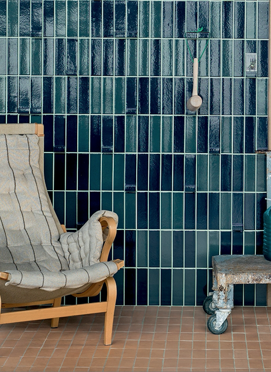 Earth and Clay Tierras Tiles by Patricia Urquiola for Mutina Tierra Turquoise Tiles by Patricia Urquiola for Mutina