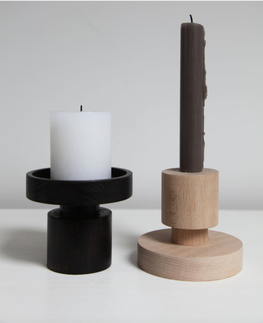 upside down wooden candlesticks by onshus 9