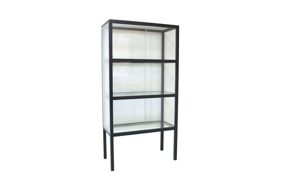 10 Easy Pieces Glass and Steel Display Cabinets Out There Interiors Show Case