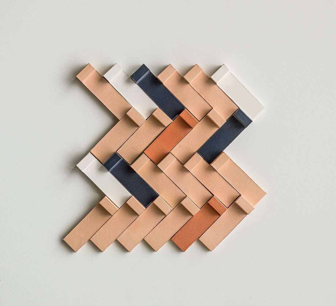 Earth and Clay Tierras Tiles by Patricia Urquiola for Mutina Tierras Tiles by Patricia Urquiola for Mutina in Herringbone