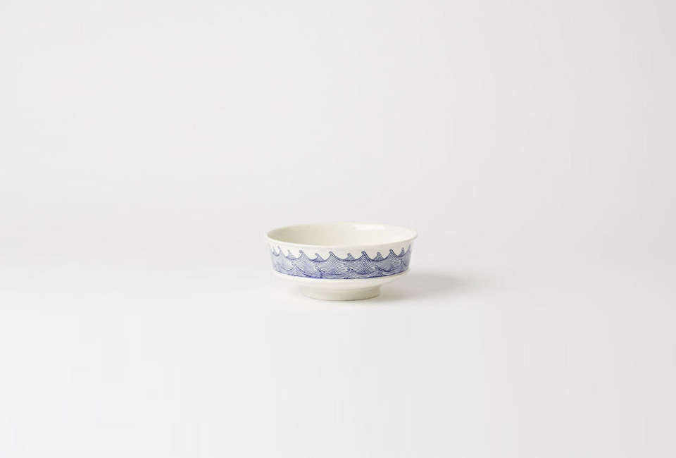 The Large Waves Bowl by Renaud Sauvé of Ateliers des Cents-Ans is $350 CAD ($8 USD) at Mjölk.