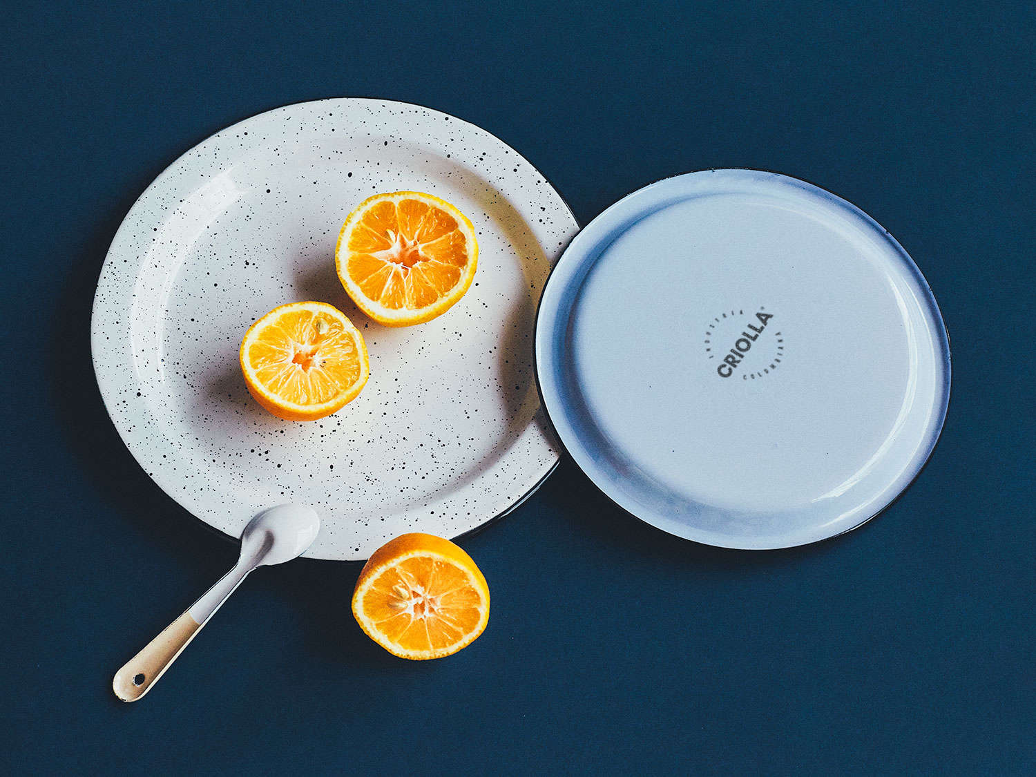 Criolla Plate with Oranges by Dirk Mai for Someware on Remodelista