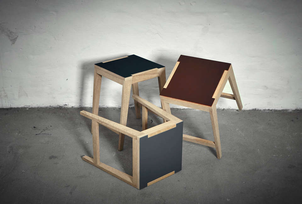 Join Stools by The Oak Men