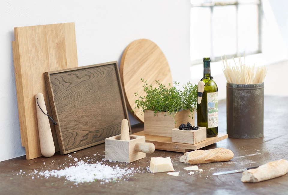 Large Square Tray by The Oak Men