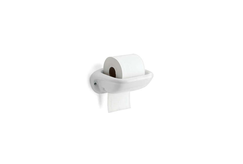 Thomas Hoof Porcelain Toilet Paper Roll Holder
