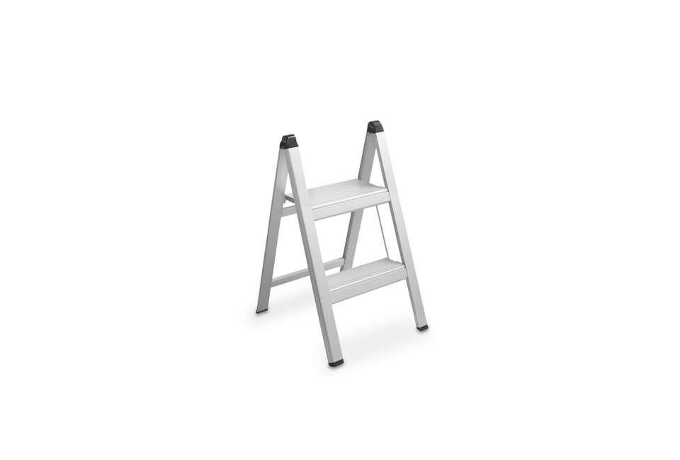 williams sonoma ultraslim aluminum step stool 12
