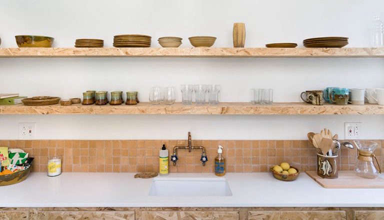 13 Favorite CostConscious Kitchen Remodels from the Remodelista Archives 2 Glassel Park Boat House by Lisa Cole