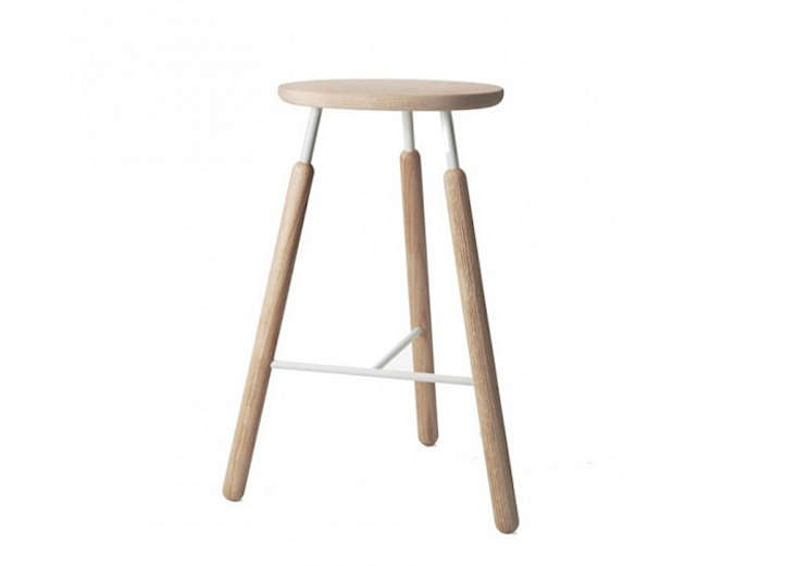 Draft Stool in Oak by Norm Architects