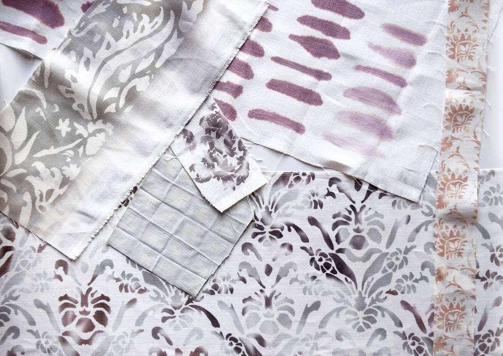 Ellisha Alexina screen printed fabric 4