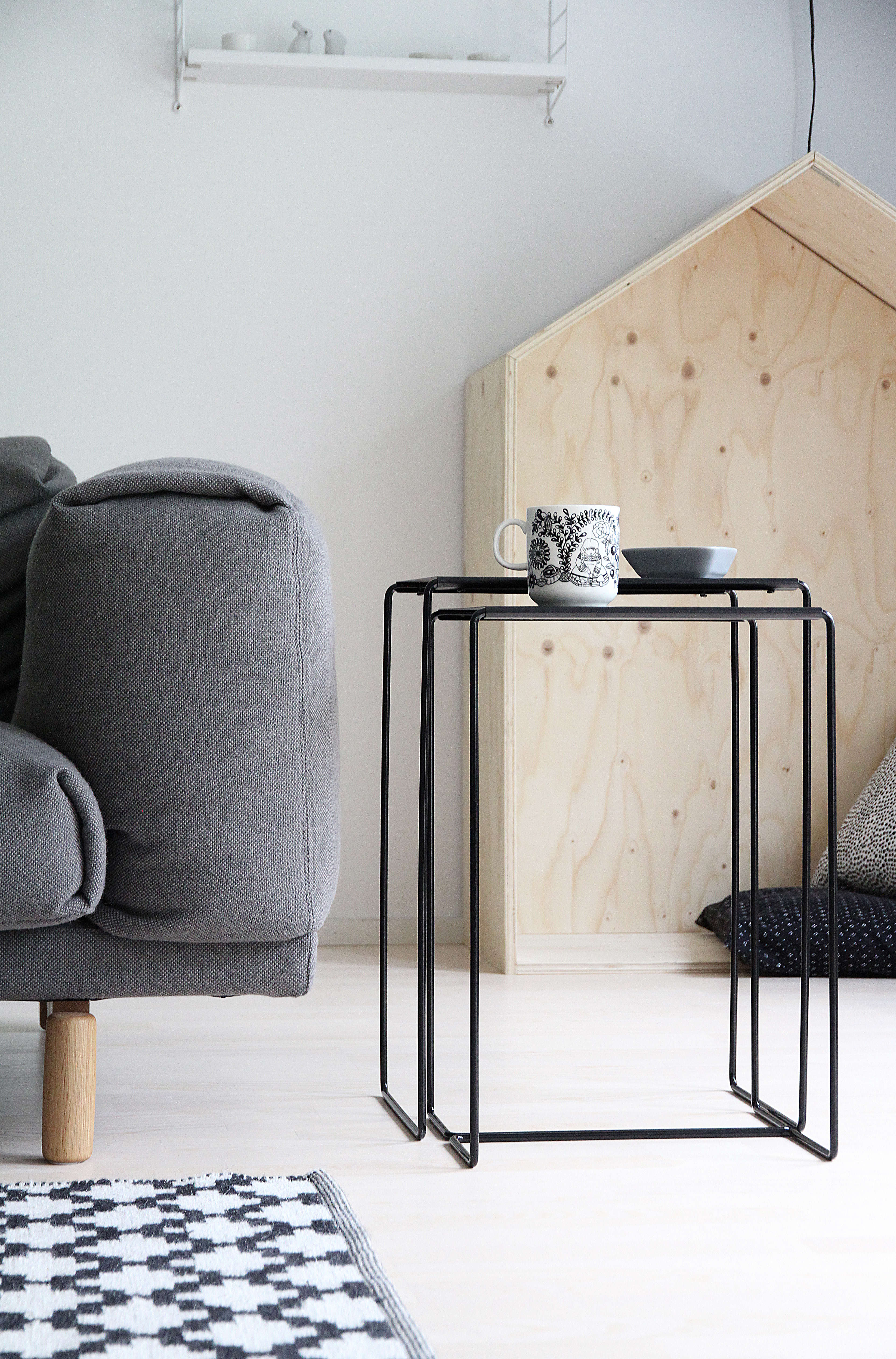 Everyday Design Finland Nesting Tables Black