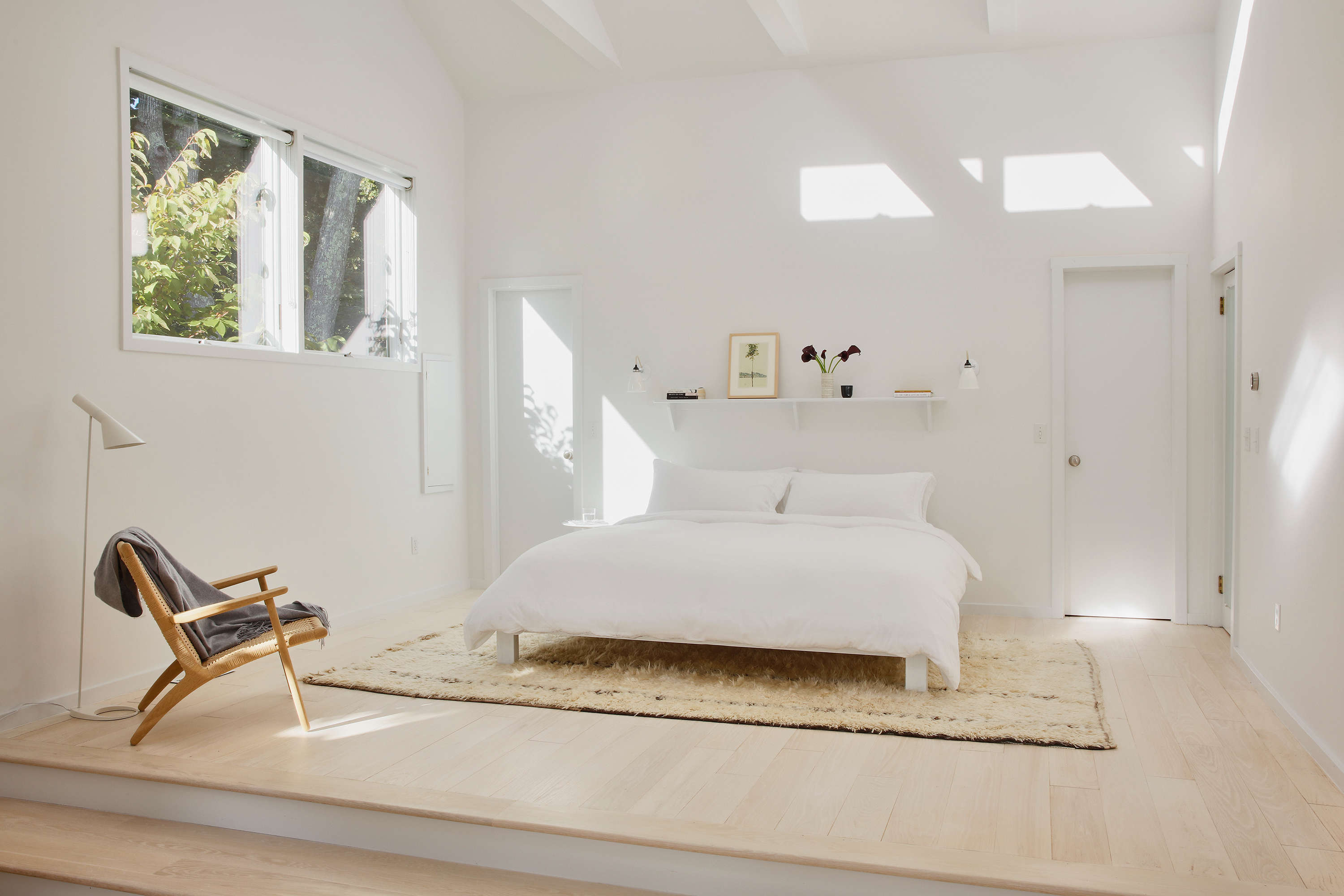 &#8\2\20;throughout the house, the palette we chose is oak wood and white p 18