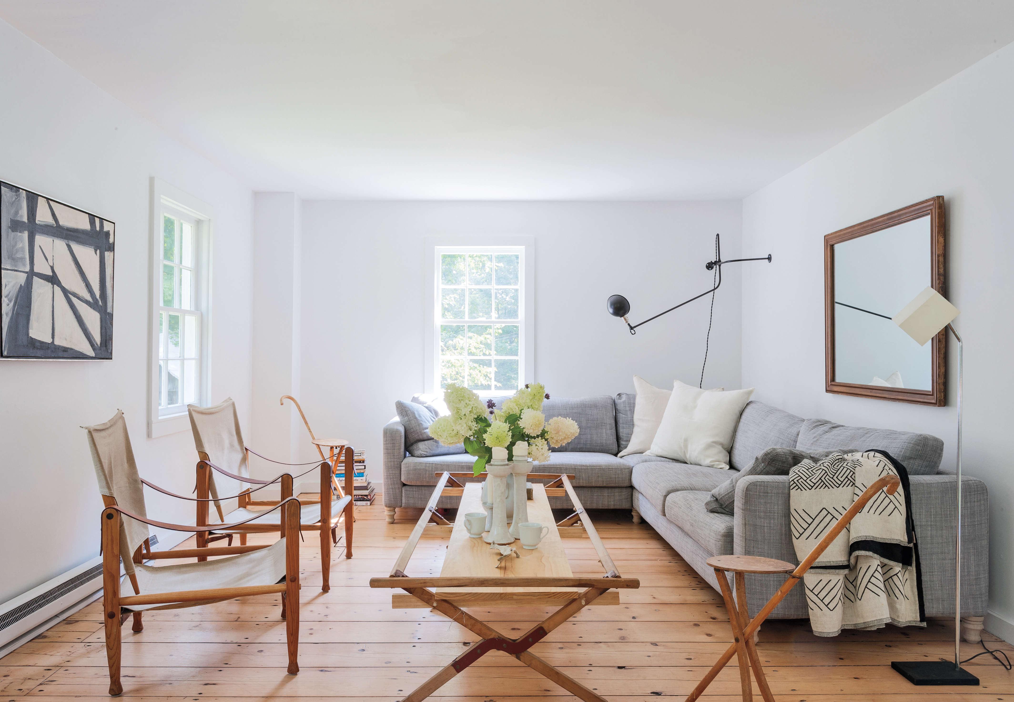 in their hudson valley living room, robert highsmith and stefanie brechbuehler  15