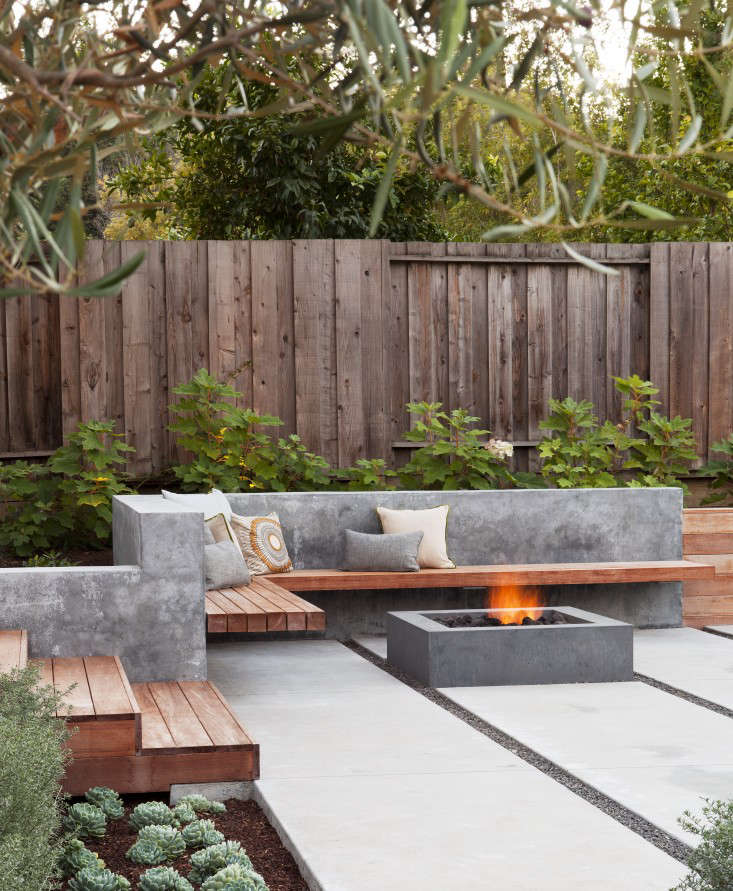 concrete fire pit by artery landscape architects, photo by michele lee wilson 12