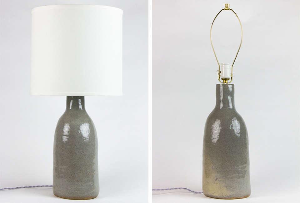 Carmen d'Apollonio Bottle Lamp