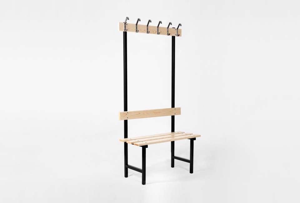 Essem Design Stylish Storage Solutions from Sweden Essem Bench 70 in Black