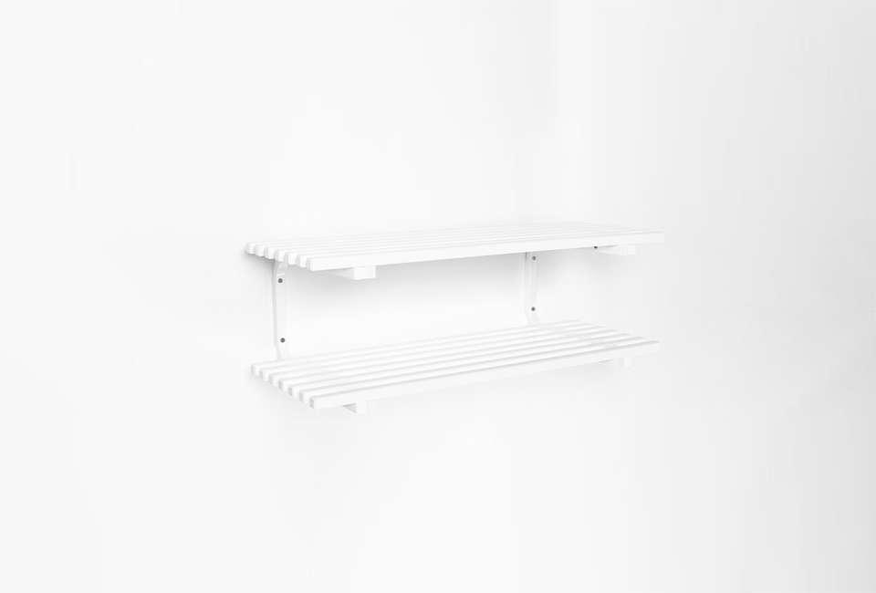 Essem Design Stylish Storage Solutions from Sweden Essem Sara Shoe Rack in White