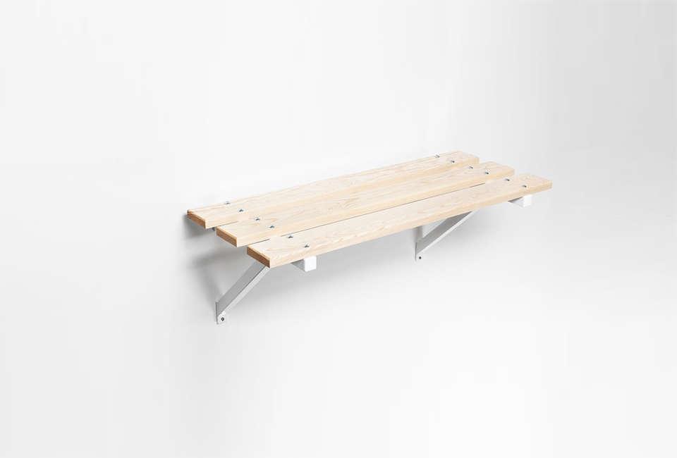 Essem Design Stylish Storage Solutions from Sweden Essem Sitbank Shelf