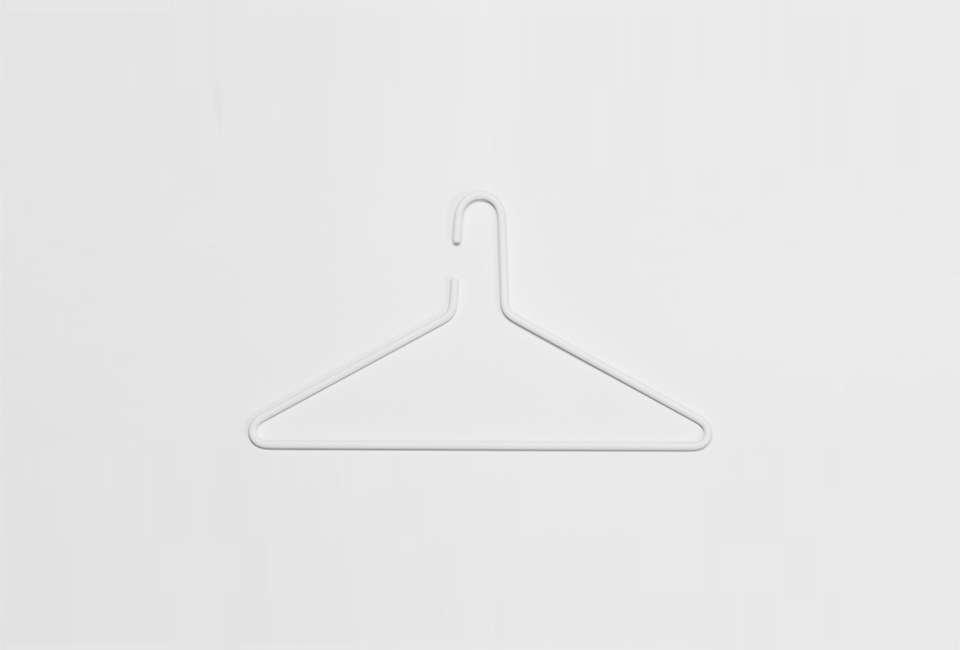 Essem Design Stylish Storage Solutions from Sweden Essem Triangel Hanger in White