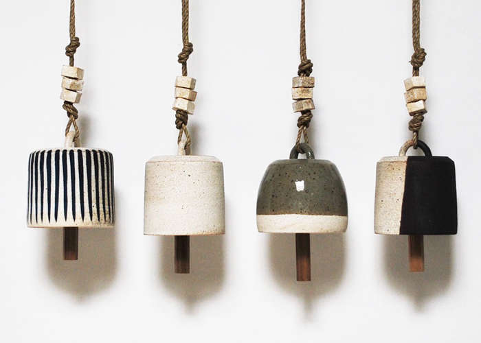 Michelle Quan X--Small Ceramic Bells on Remodelista