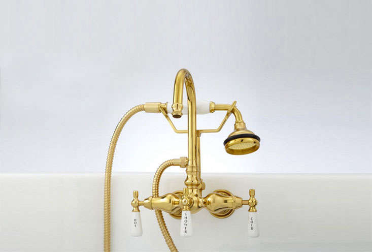 gooseneck tub wall mounted faucet and hand shower 15