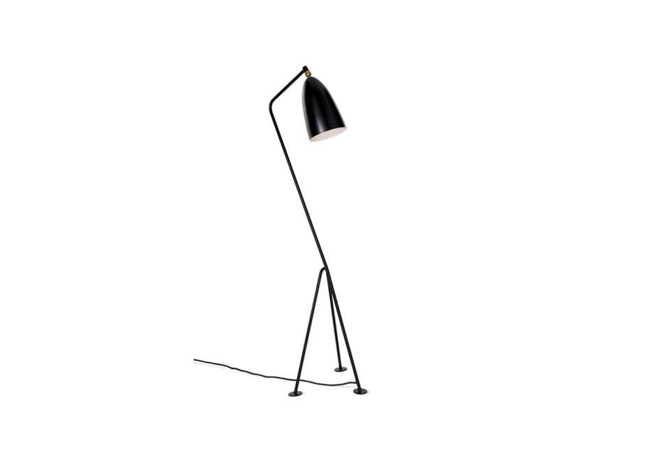 Gubi Grasshopper Floor Lamp in Black