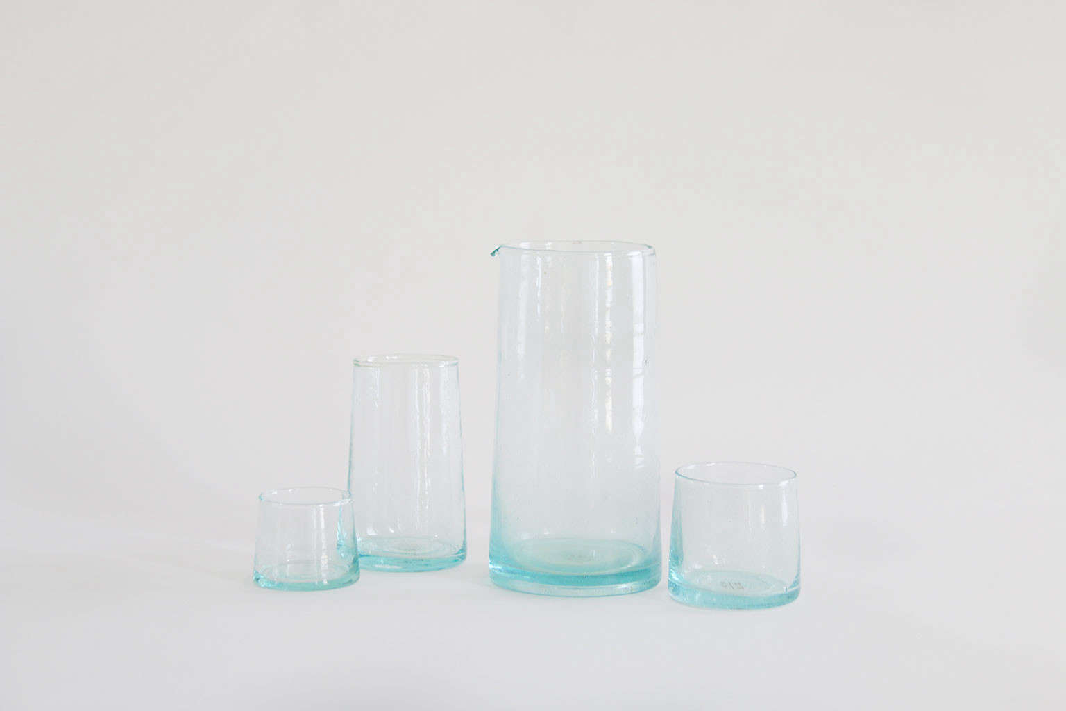 The Recycled Glassware by Hawkins New York starts at $3