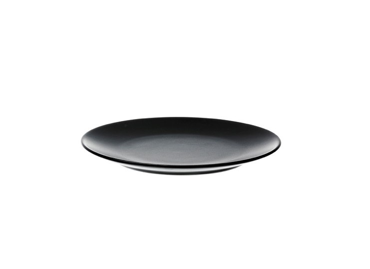 black dinera plate from ikea 12