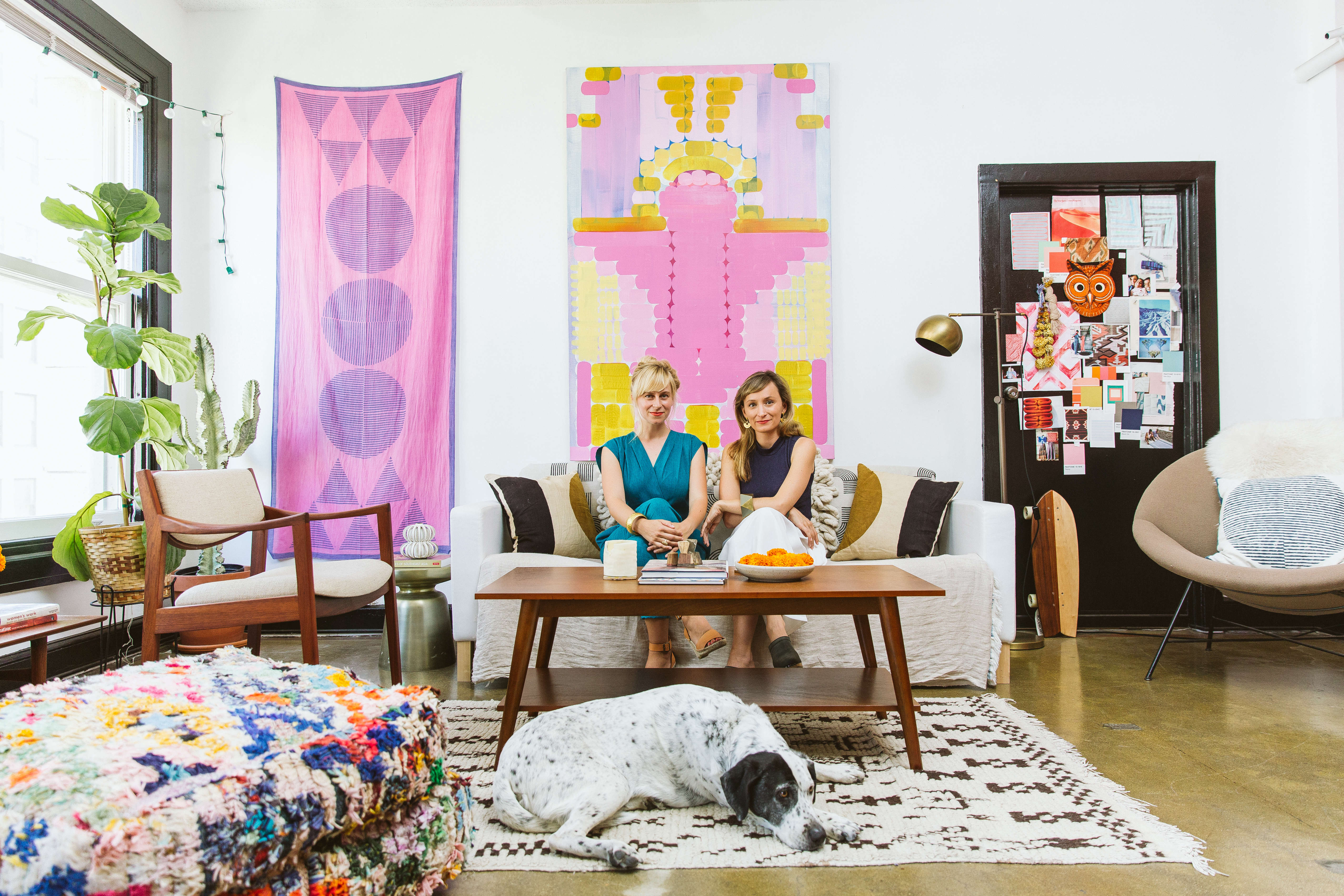 Hope and Lily Stockman in In The Company of Women by Sasha Israel on Remodelista