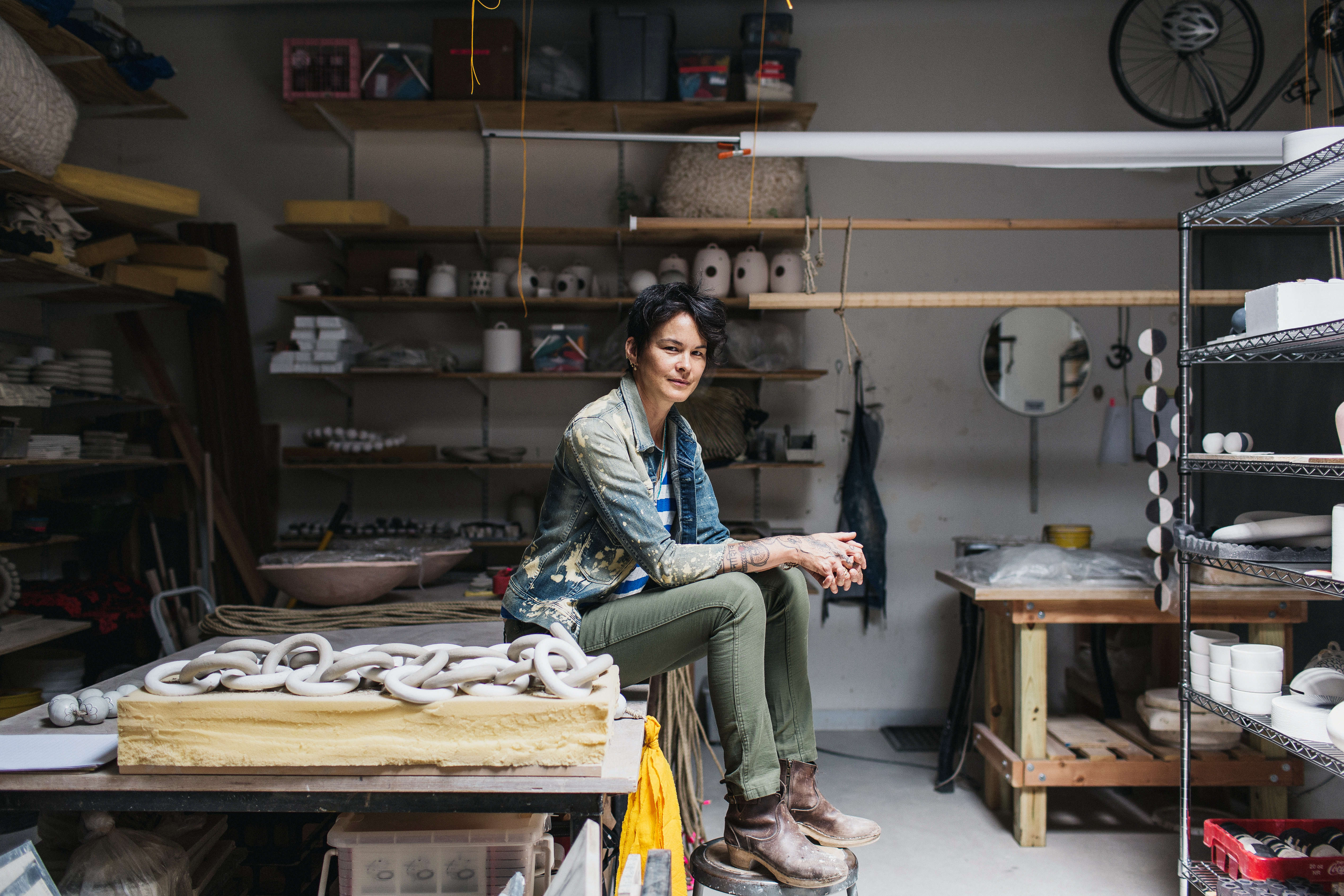Michele Quan in In The Company of Women by Sasha Israel on Remodelista
