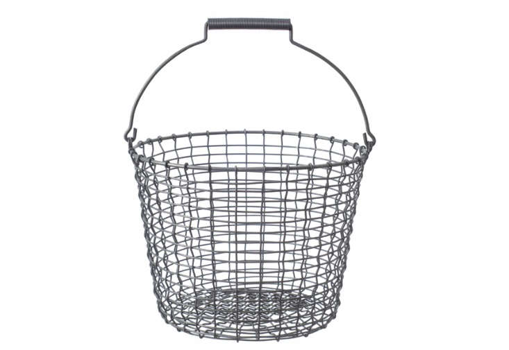 Galvanized Wire Bucket by Korbo