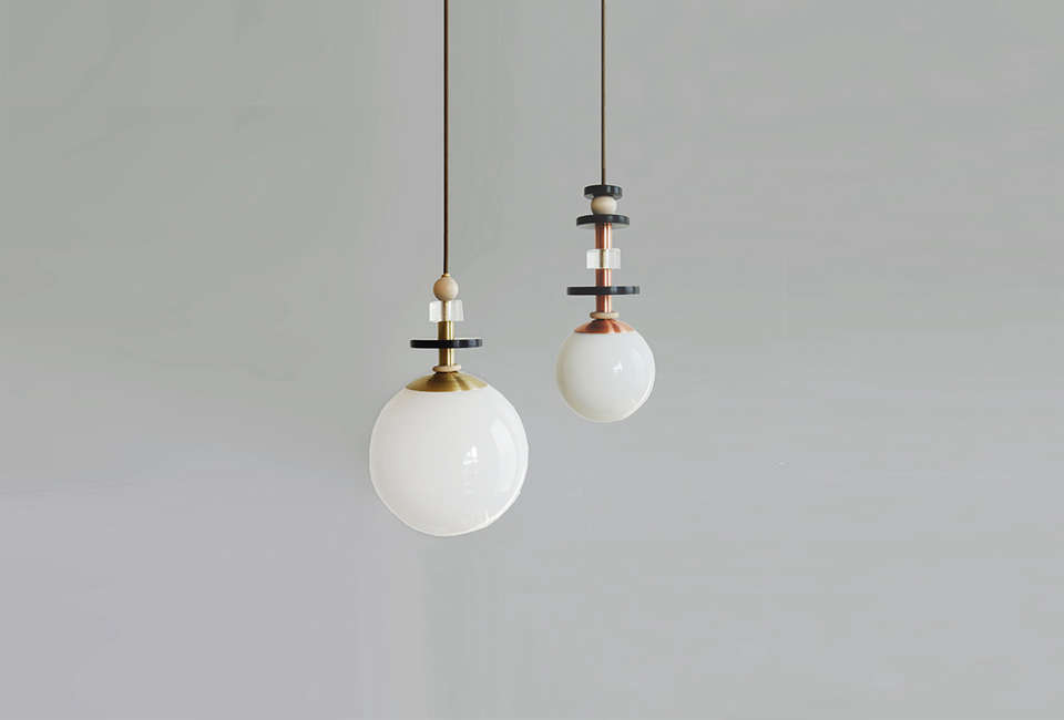 Ladies and Gentlemen Studio Maru Pendant Lights