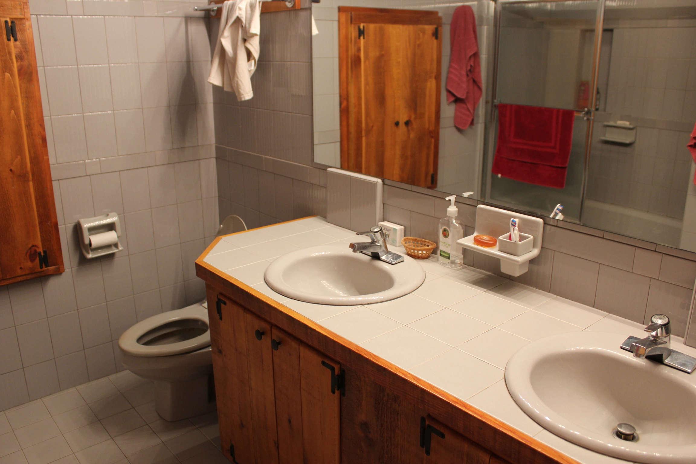An original bathroom.