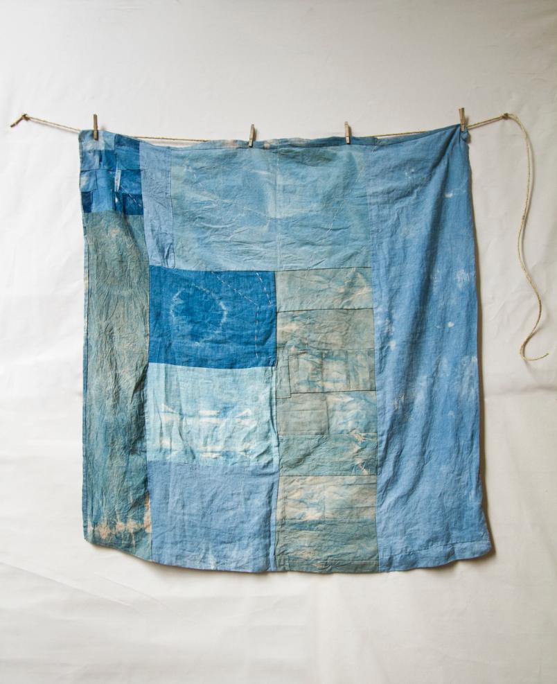 blue untitled quilt 2 by matt katsaros on remodelista 16