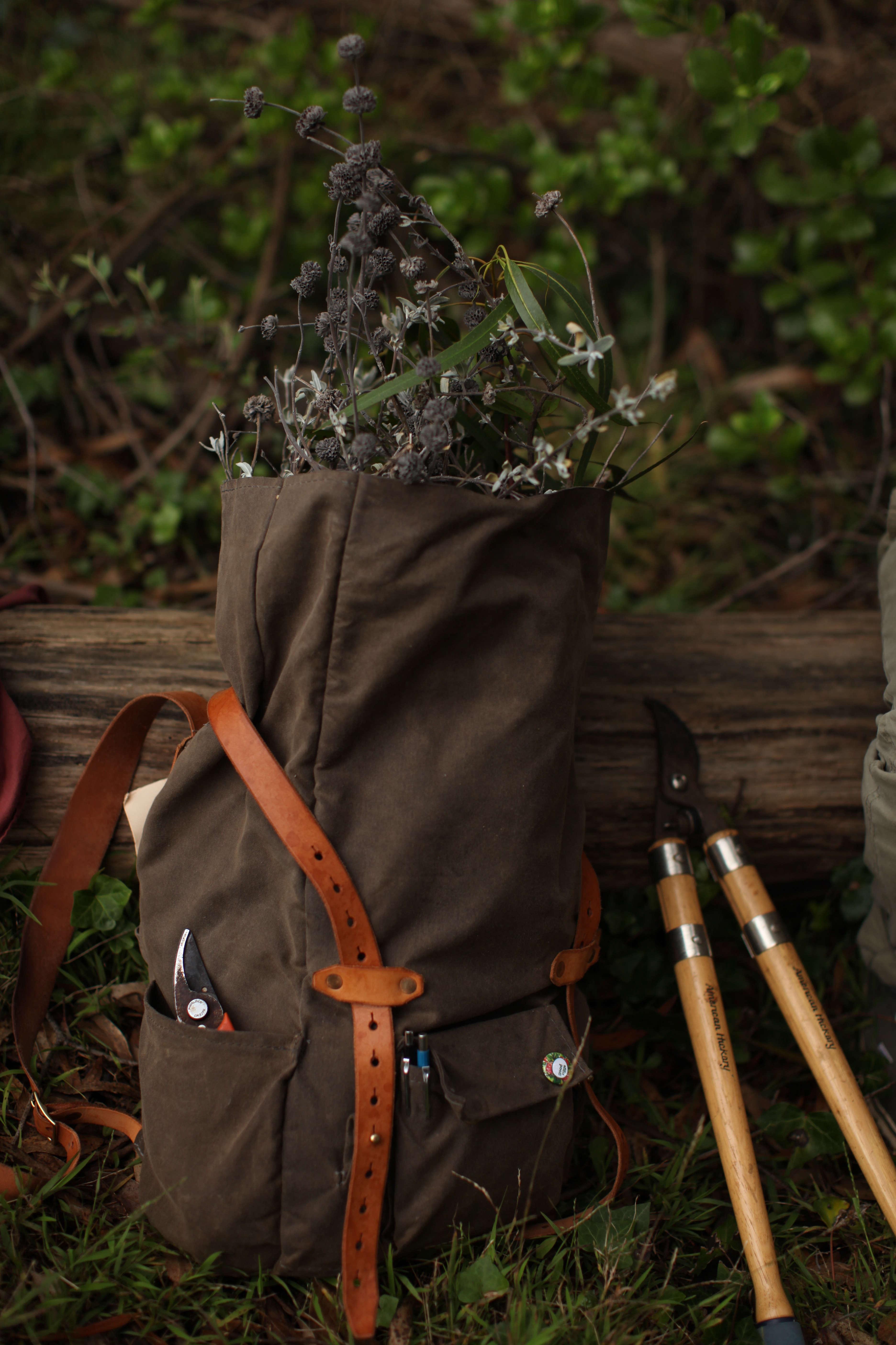 roll top backpack by matt katsaros on remodelista 10