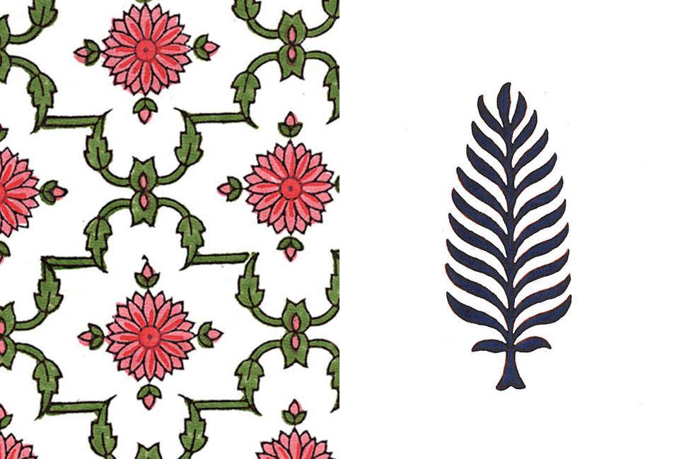 Muriel Brandolini White Fabric Designs