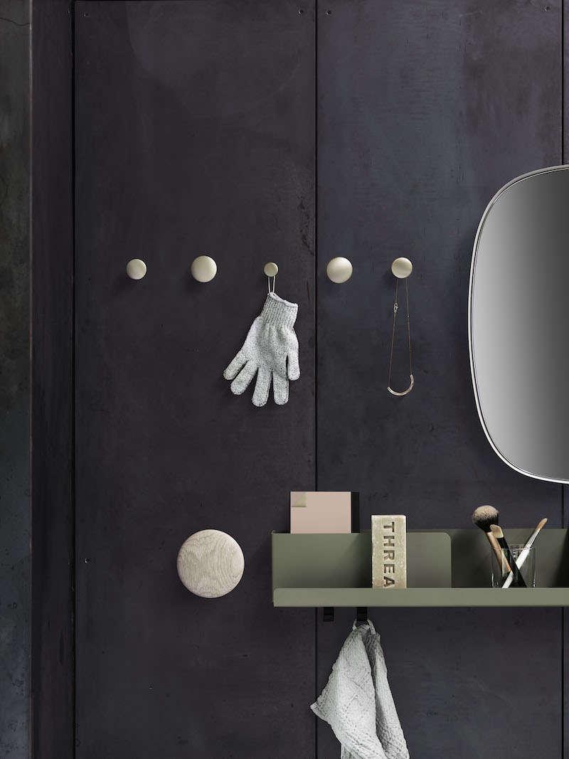 muuto dot wall hooks in metal 11