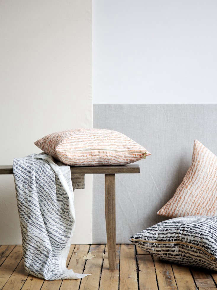 Rebecca Atwood Dashes Pillows Remodelista