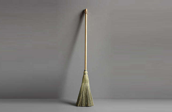 The Shaker Broom has a broomcorn head and a pine handle; $40 from Haydenville Broomworks, in Massachusetts.