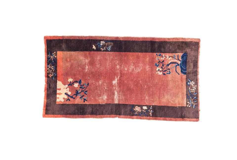 sharktooth 20th century chinese rug 20