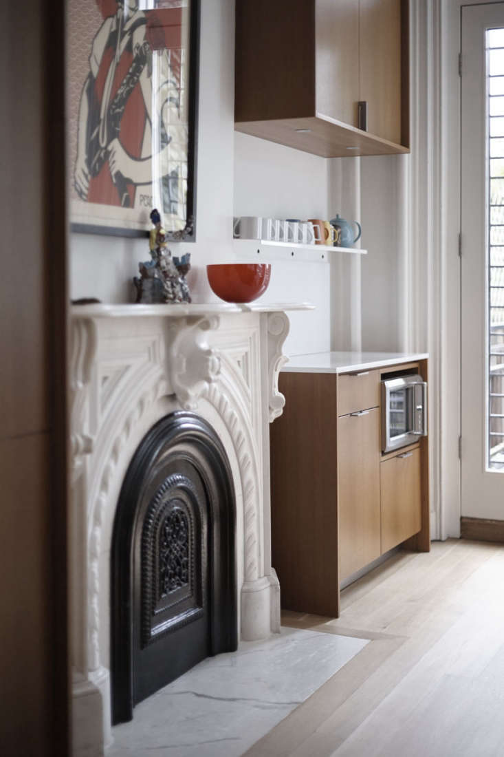 in the back parlor turned kitchen of a\19th century brooklyn townhouse, archi 14