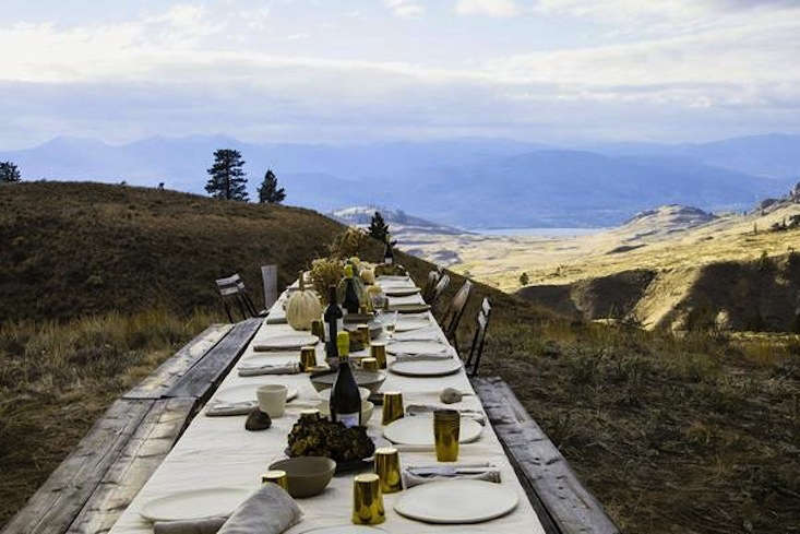 one of our all time favorite outdoor thanksgivings, from into the wild with le  9