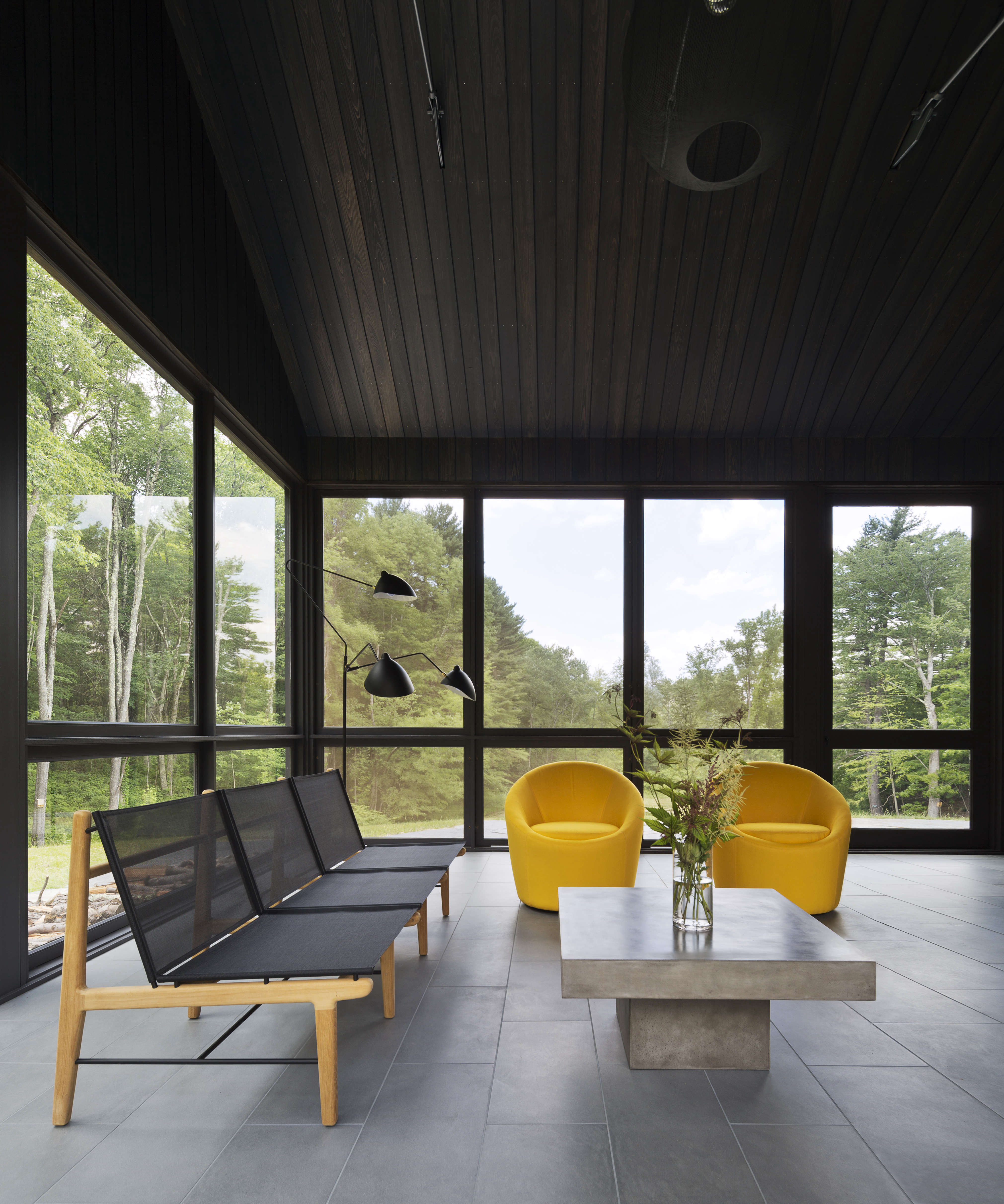 the porch at undermountain, a barn style house in the berkshires by o'neill ros 20