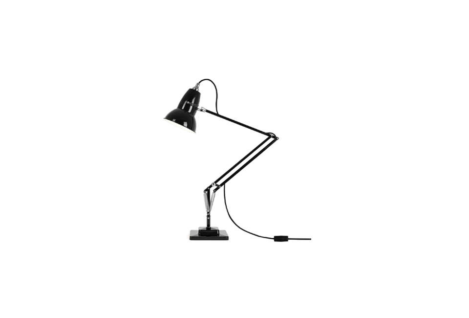 Steal This Look A Country House with Selective Color Anglepoise Original 1227 Task Light Black