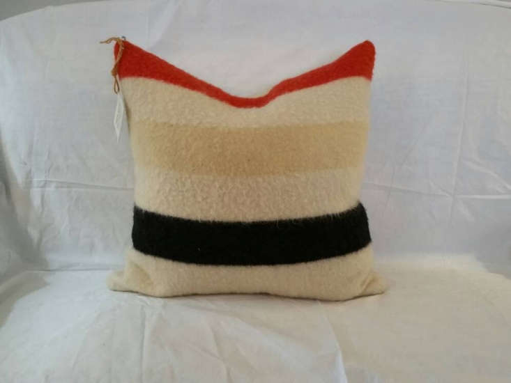 Object Lessons The Hudsons Bay Point Blanket You can source vintage Hudson&#8\2\17;s Bay blankets along with furniture and pillows that integrate them into the design on Etsy. This Antique Hudson&#8\2\17;s Bay Blanket Pillow is \$78.
