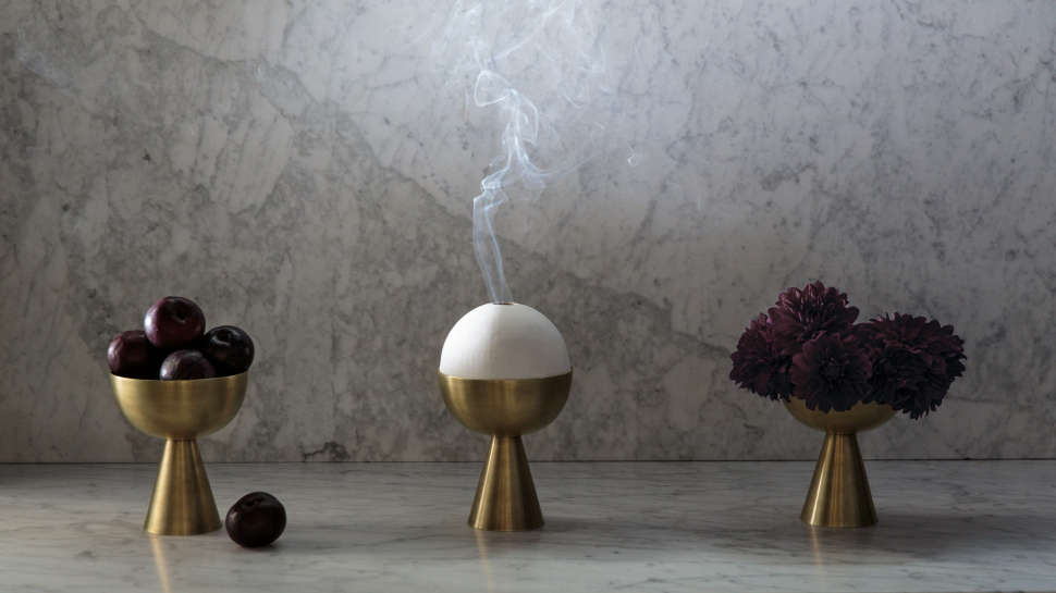 censer incense holders by apparatus studio 10